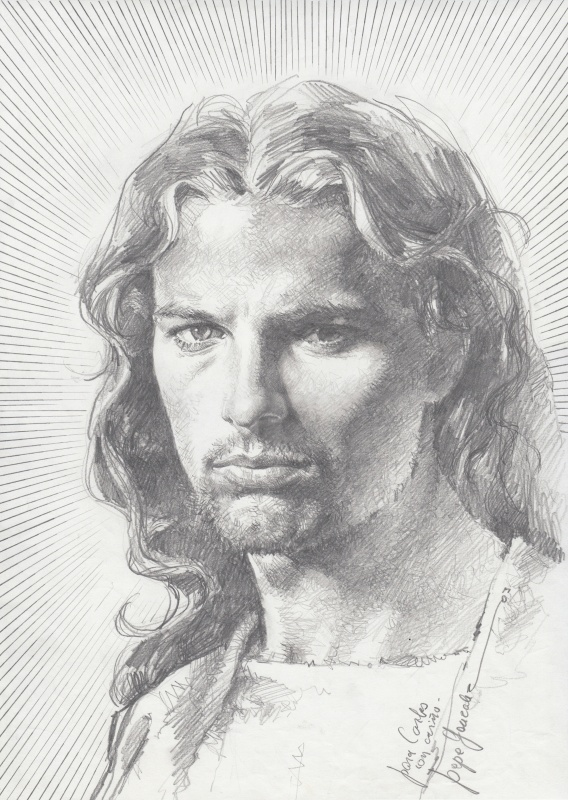 Christ by José González - Illustration