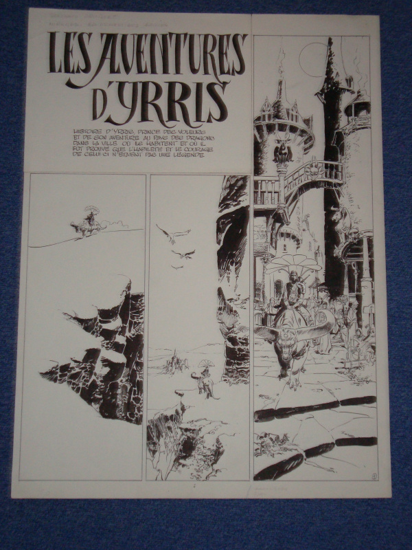 Yrris by Alexis, Philippe Druillet - Comic Strip