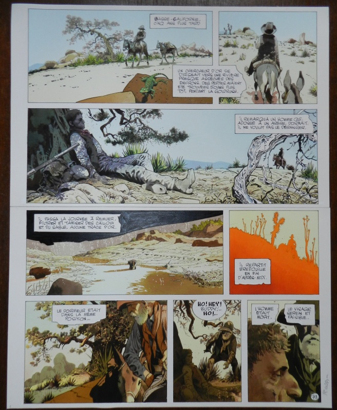 Deadline - Planche 79 by Christian Rossi - Comic Strip