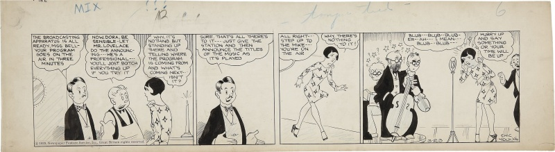 Dumb Dora 3/23/1929 by Chic Young - Comic Strip