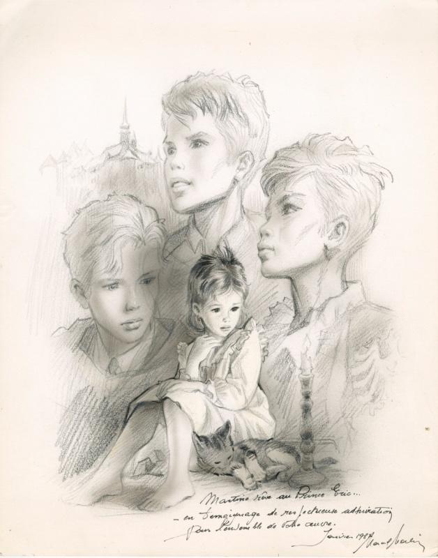 Hommage joubert par marcel marlier illustration - Martine dessin ...