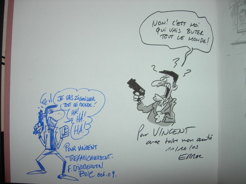 Le DESSINATEUR by Erroc, François Dimberton - Sketch