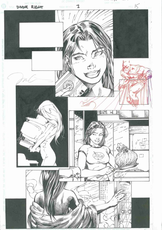 Divine Right - Issue 7  page 15 by Jim Lee, Armando Durruthy - Comic Strip