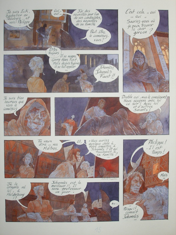 Faust Michel Crespin by Michel Crespin - Comic Strip