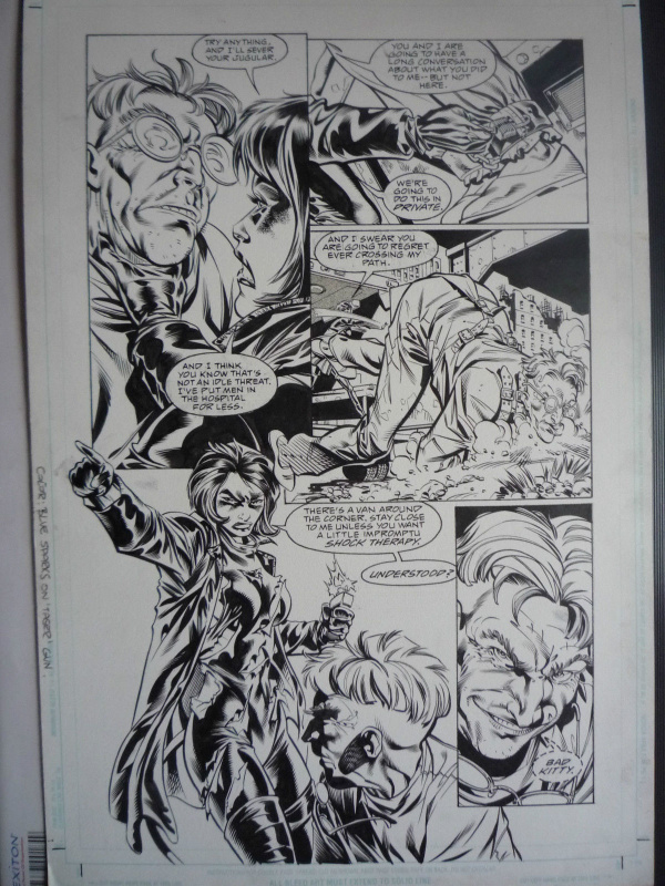 Catwoman N° 93 page 3 by Staz Johnson - Comic Strip