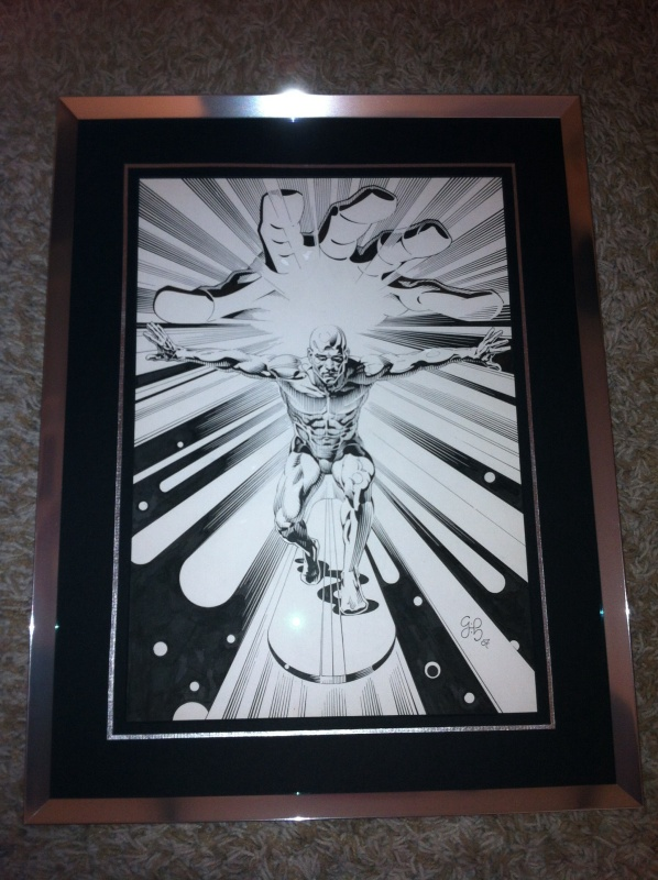 Silver Surfer by Craig Hamilton - Comic Strip
