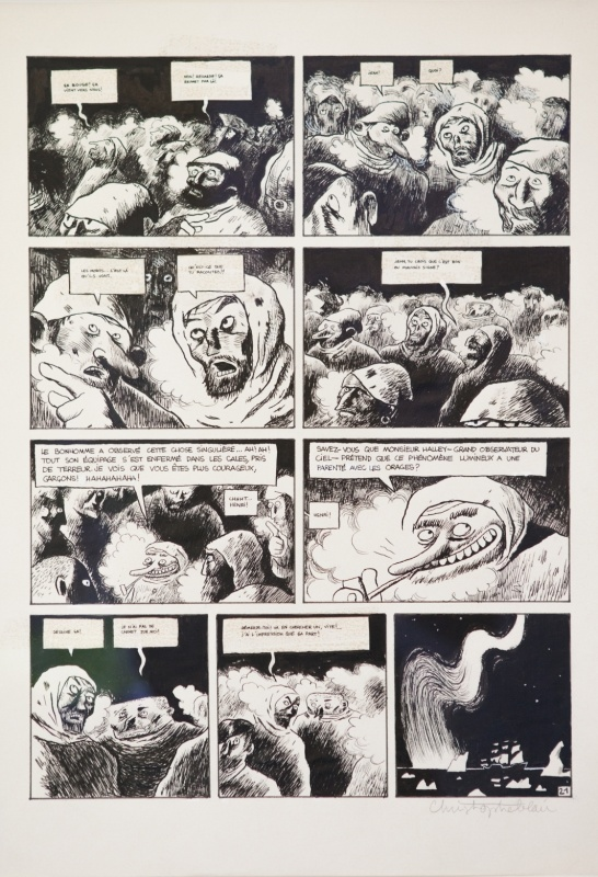 Isaac le pirate by Christophe Blain - Comic Strip