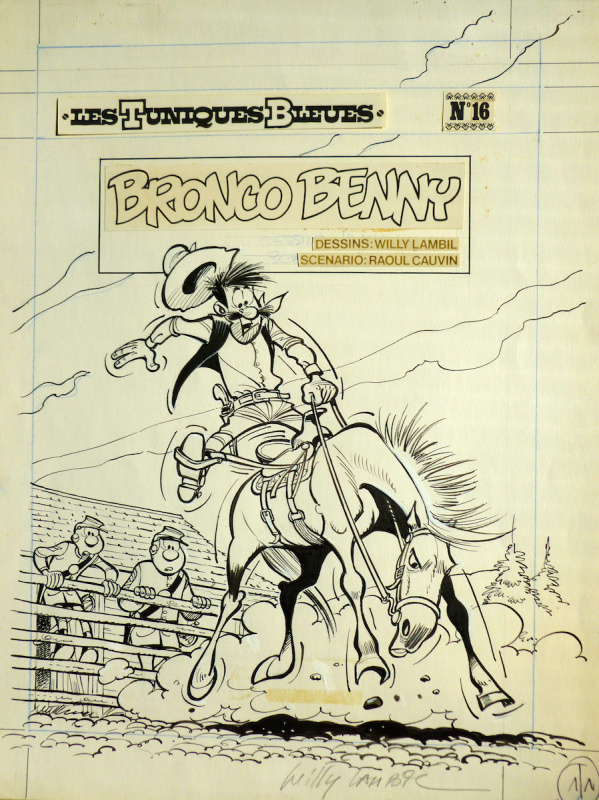Lambil - Bronco Benny by Willy Lambil - Original Cover