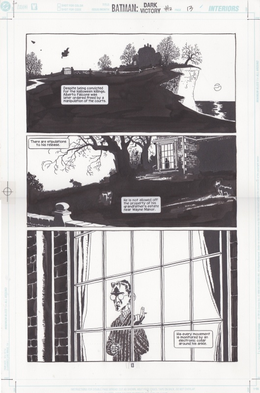 Batman: Dark Victory #2 by Tim Sale, Jeph Loeb - Comic Strip