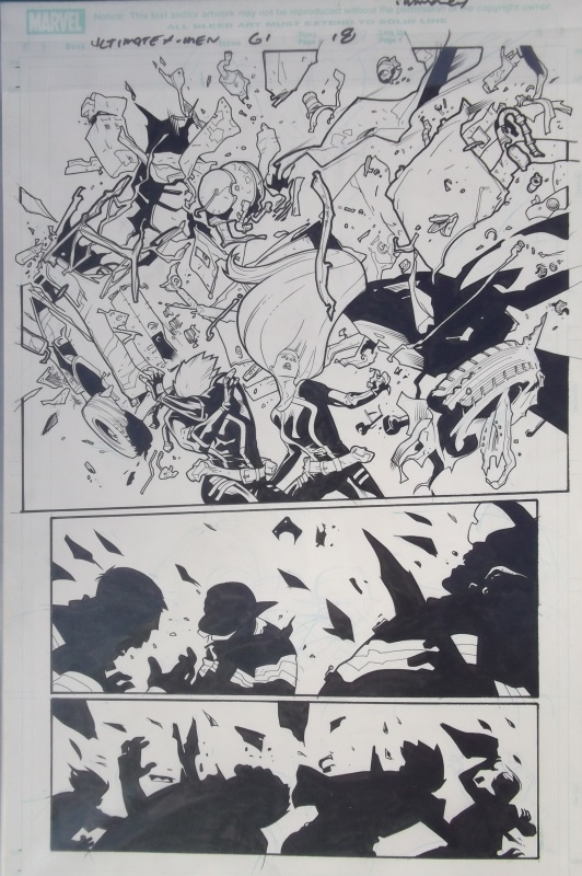 Ultimate XMEN by Stuart Immonen, Wade Von Grawbadger - Comic Strip
