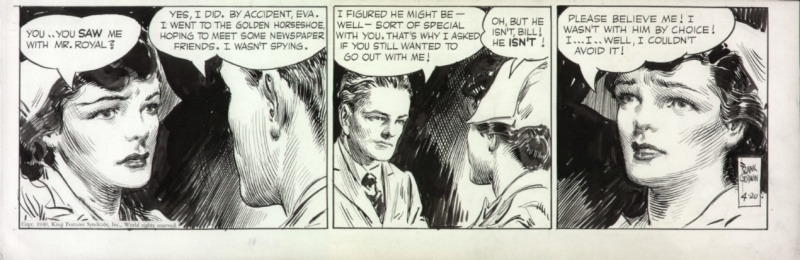 Rusty Riley 1949 by Frank Godwin by Frank Godwin - Comic Strip