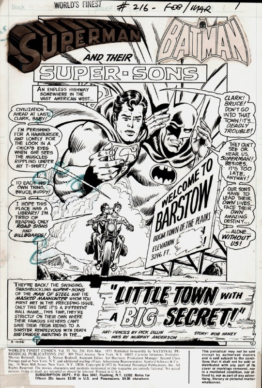World's Finest by Dick Dillin - Comic Strip
