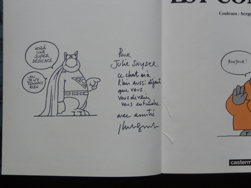 Pour Julie Snyder... by Philippe Geluck - Sketch