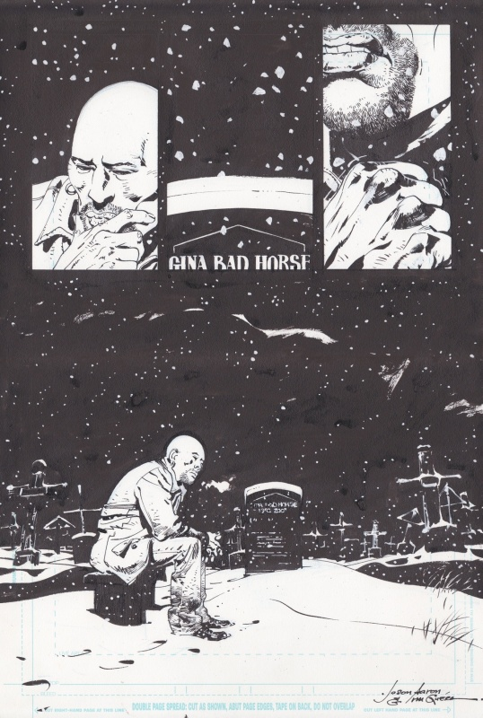 Scalped #42: Unwanted by R. M. Guéra, Jason Aaron - Comic Strip
