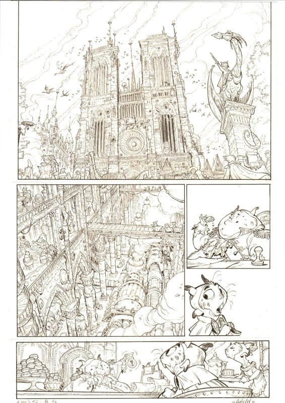 Ekho - Tome 2, planche 13 by Alessandro Barbucci, Christophe Arleston - Comic Strip