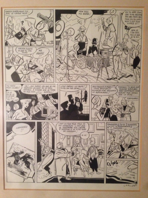 Freddy Lombard - Cimetiere des elephants by Yves Chaland - Comic Strip