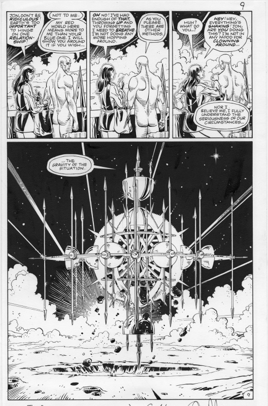 Watchmen Issue 9 page 9 by Alan Moore, Dave Gibbons - Comic Strip