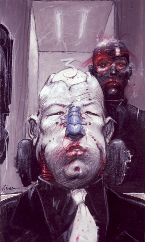 Portrait du Docteur Warhole by Enki Bilal - Comic Strip