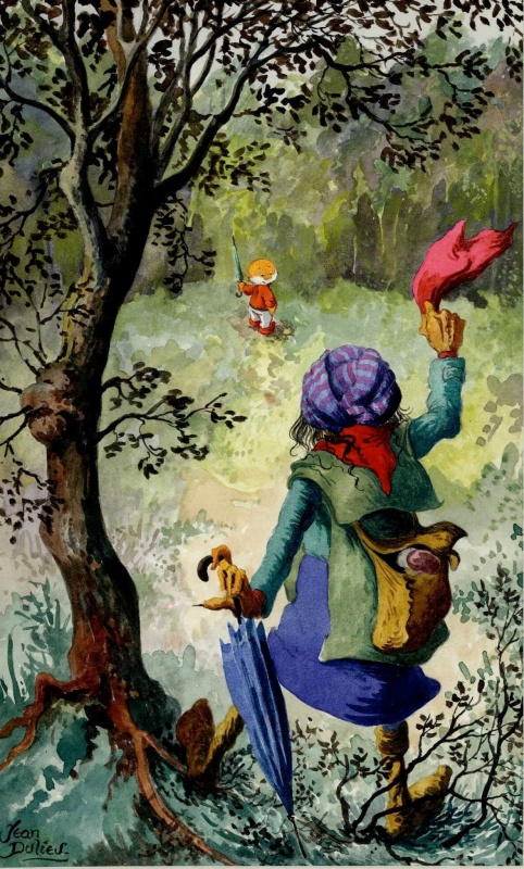 paulus de boskabouter illustratie uit margriet par jean dulieu