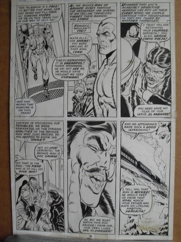 Doc savage by Ross Andru - Comic Strip