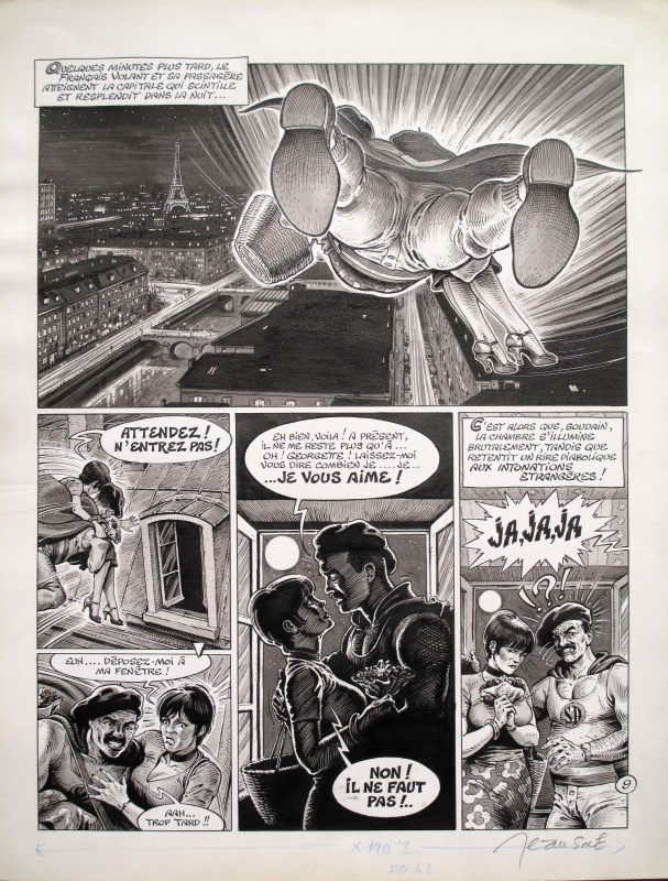 Superdupont 02 ( Amour & Forfaitures ) 01/02 by Jean Solé, Jacques Lob - Comic Strip