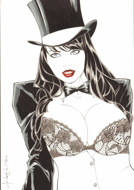 Zatanna by Rubismar Da Costa - Illustration