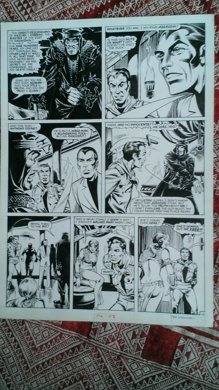 Indiana JONES by Steve Ditko, Steve LEIAHOLA - Comic Strip