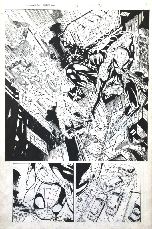 Amazing Spider-Man by Joe Bennett, Sandu Florea - Comic Strip