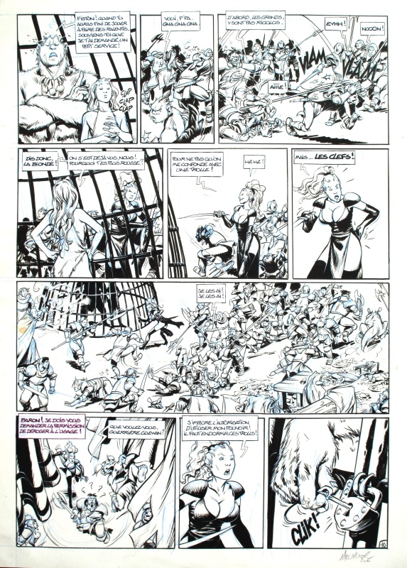 Trolls de Troy 05 ( Les malifices de la thaumaturge ) by Jean-Louis Mourier, Christophe Arleston, Claude Guth - Comic Strip