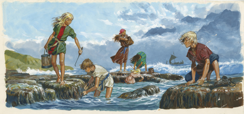 Joubert-Vikings-1982 par Pierre Joubert - Illustration