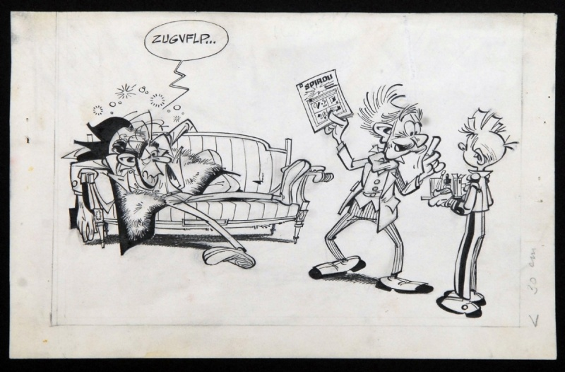 Franquin - Zorglub by André Franquin - Illustration