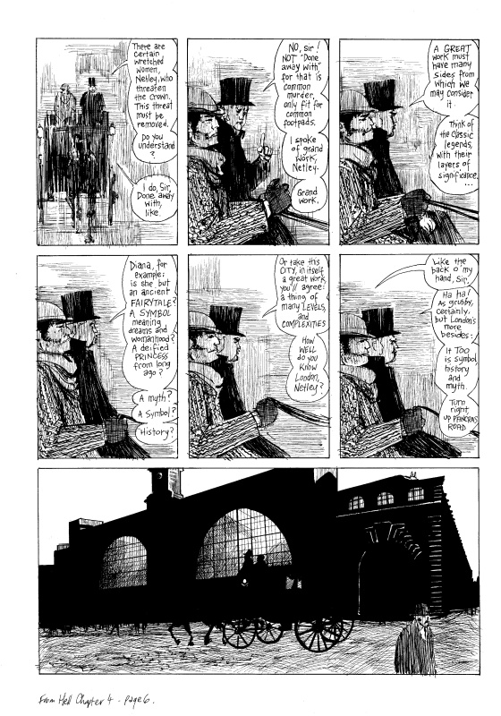 From Hell Ch. 4, page 6 by Eddie Campbell, Alan Moore - Comic Strip