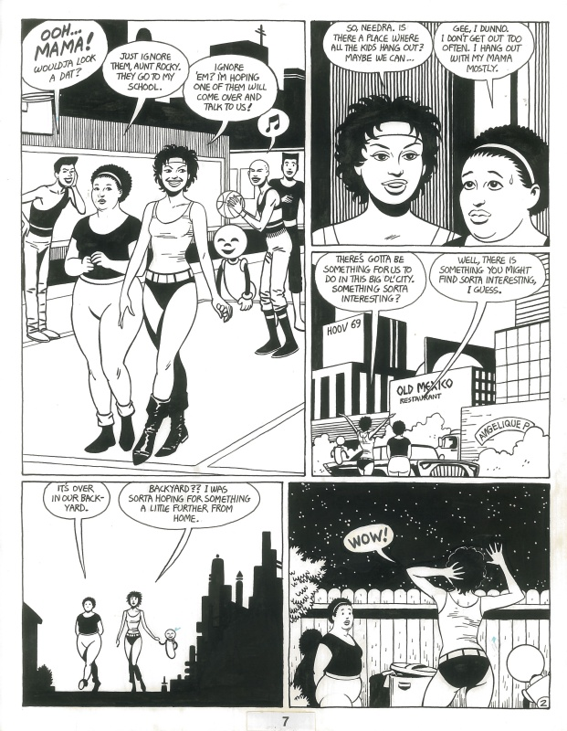Love & Rockets by Jaime Hernandez - Comic Strip