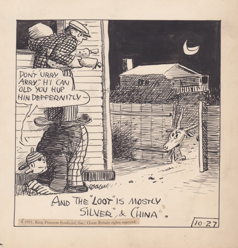 Embarrassing Moments by George Herriman - Comic Strip