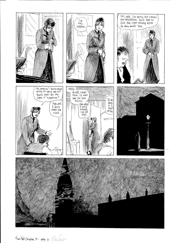 From Hell, Ch.5, p.21 by Eddie Campbell, Alan Moore - Comic Strip