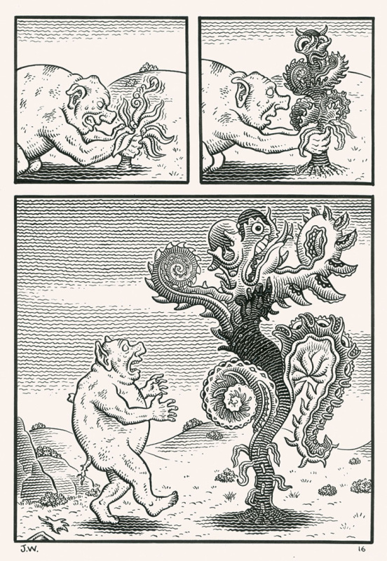 WEATHERCRAFT by Jim Woodring - Comic Strip