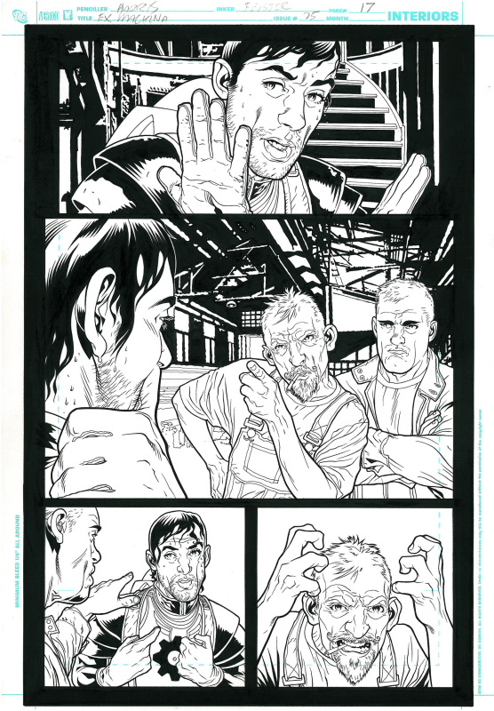 Ex machina #25 page 17 by Tony Harris, Brian K. Vaughan, Tom Feister - Comic Strip