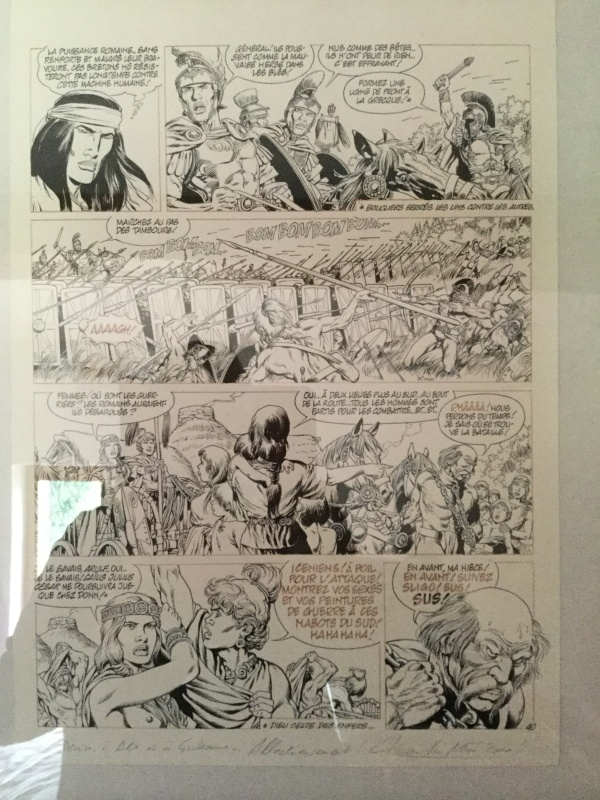 Mitton, pl VAE VICTIS by Jean-Yves Mitton - Comic Strip