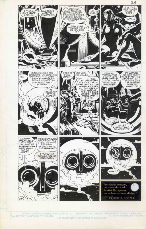 Watchmen #7 Page 28 by Dave Gibbons, Alan Moore - Comic Strip