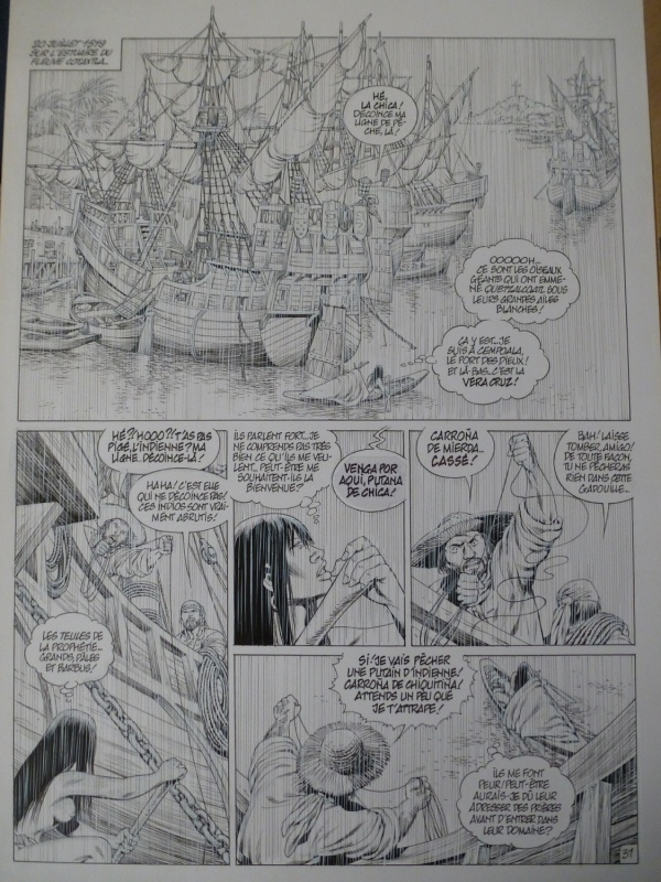 Quetzalcoatl tome 5 planche 31 by Jean-Yves Mitton - Comic Strip