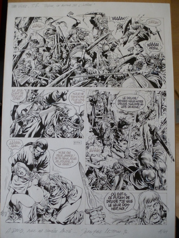 Vae Victis Tome 5 Planche 11 by Jean-Yves Mitton - Comic Strip