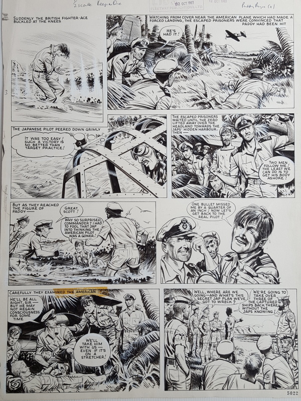Paddy Payne - Joe colquhoun 1963 by Joe Colquhoun - Comic Strip