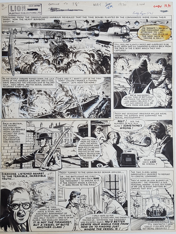 Paddy payne - Joe Colquhoun 1961 by Joe Colquhoun - Comic Strip