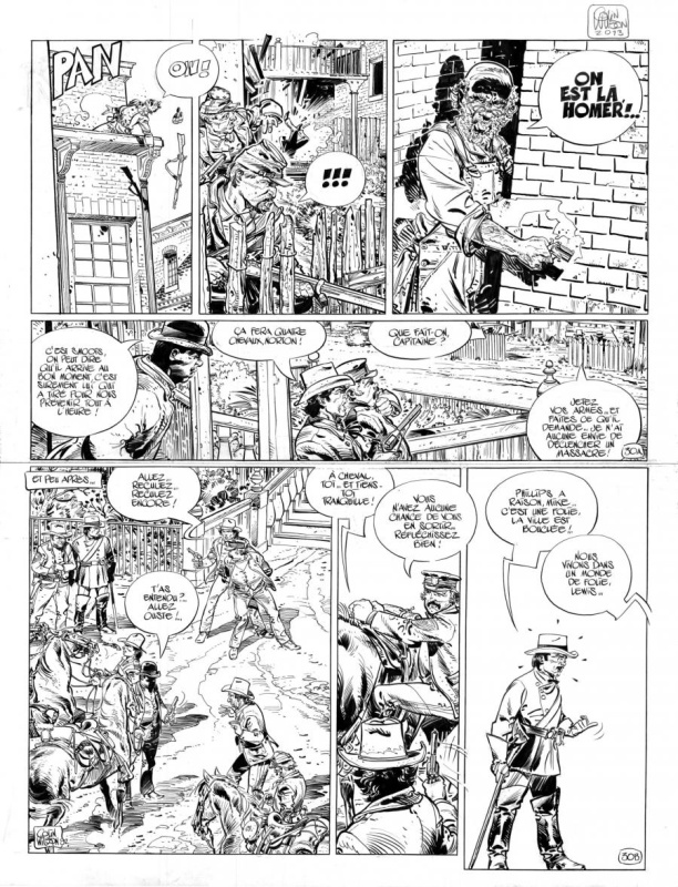 Blueberry by Colin Wilson, François Corteggiani - Comic Strip