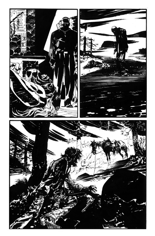 R.m.guera, Scalped #49 page 13 by R. M. Guéra - Comic Strip
