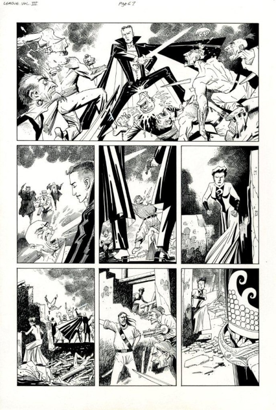 League of Extraordinary Gentlemen Century 1910 page 67 by Kevin O'Neill, Alan Moore - Comic Strip