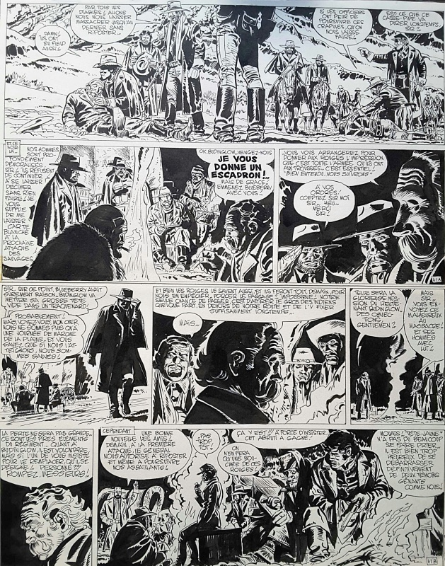 Blueberry p41 T10 by Jean Giraud, Jean Michel Charlier - Comic Strip