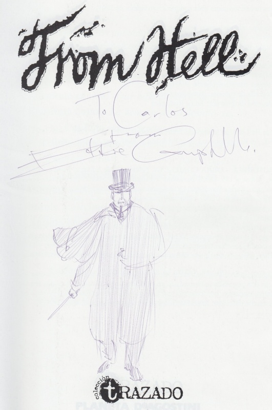 From Hell by Eddie Campbell - Sketch