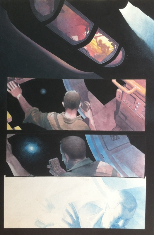 Namor / Sub-Mariner : The Depths - Issue 01 Page 3 by Esad Ribic, Pete Milligan - Comic Strip
