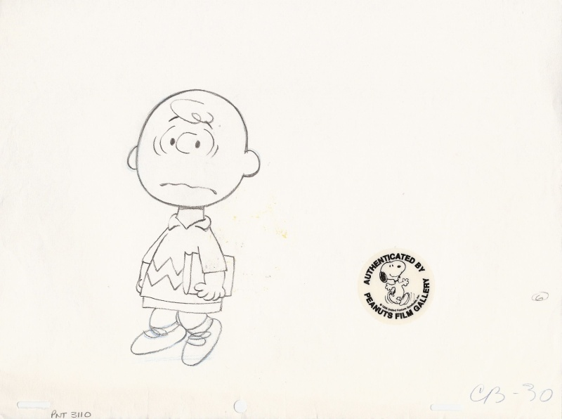 Charlie Brown by Bill Melendez Productions, Charles M. Schulz - Original art